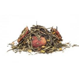 vanilková jahoda zelený čaj
