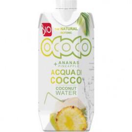 Bio kokosovo ananasová voda 100% 330ml
