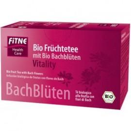 Bio bylinný čaj z kvetov Dr.Bacha Vitality ovocný