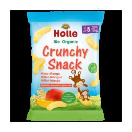 Chrumkavé občerstvenie z prosa + mango od 8 mesiaca Holle