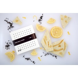43% Earl grey, citrón