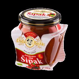 BIO EXTRA šípkový džem, 96% ovocia 240g