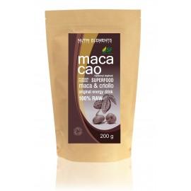 maca cao powder prášok, 100% raw, 100g