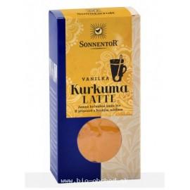 Kurkuma Latte - vanilka BIO, zlaté mlieko 60g